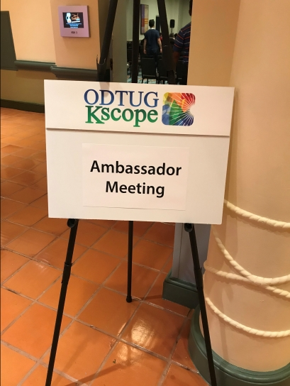 Time for the Ambassador Meeting