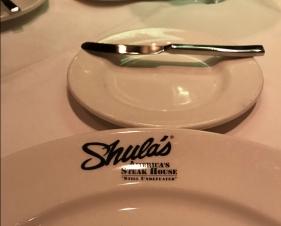 Dinner at Shula's